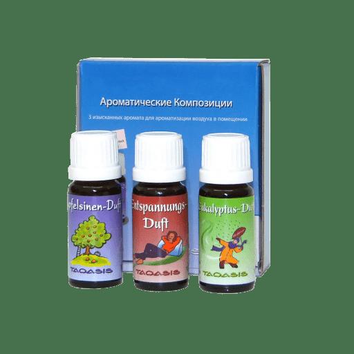 Мини-набор ароматических добавок Venta №1 (Успокоительный, Апельсин, Эвкалипт)