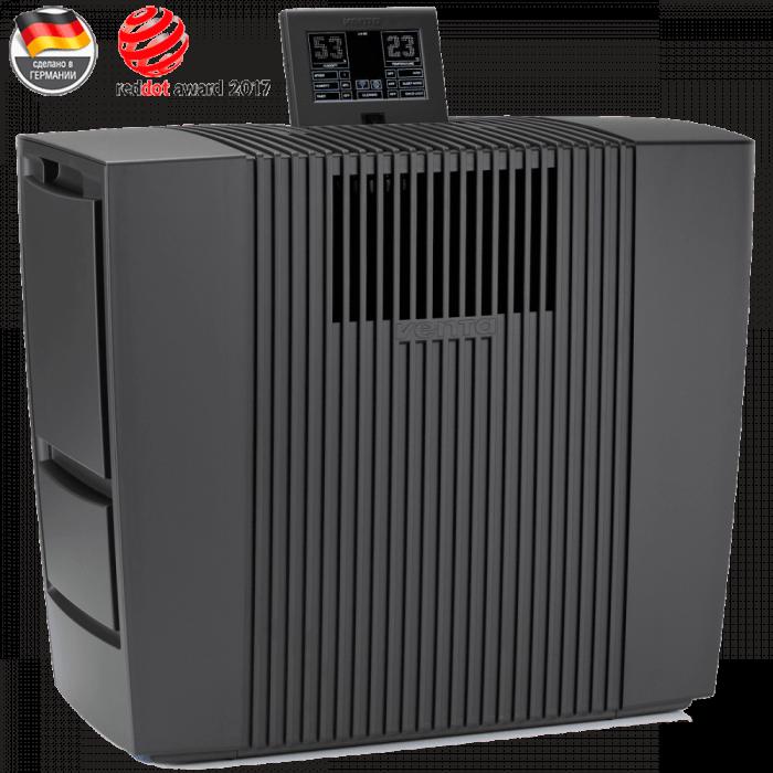 Очиститель-увлажнитель воздуха Venta LW60T Wi-Fi (черный) + мини-набор ароматических добавок в подарок!