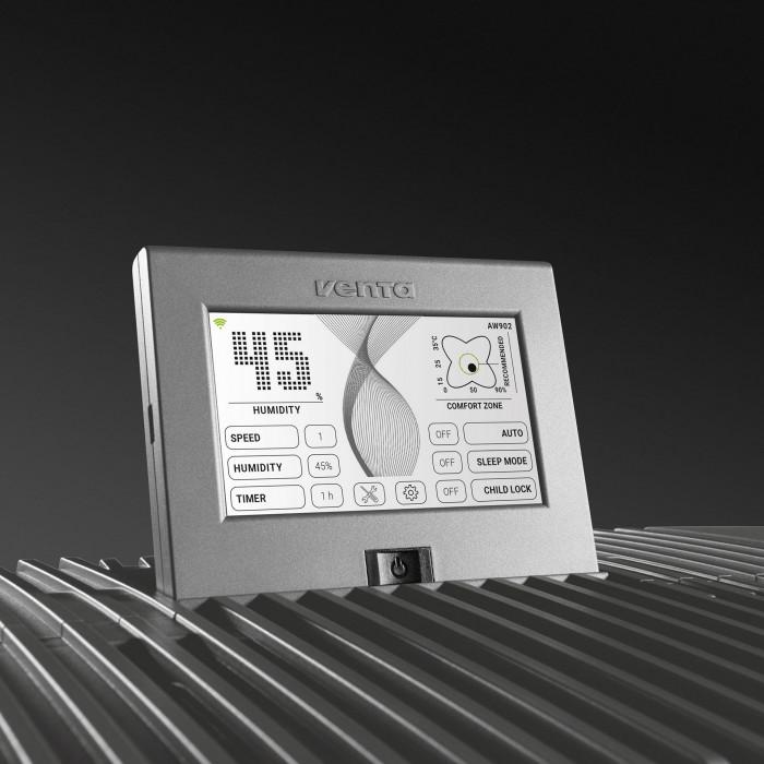 Очиститель-увлажнитель воздуха Venta PROFESSIONAL AH902 WiFi (серый)