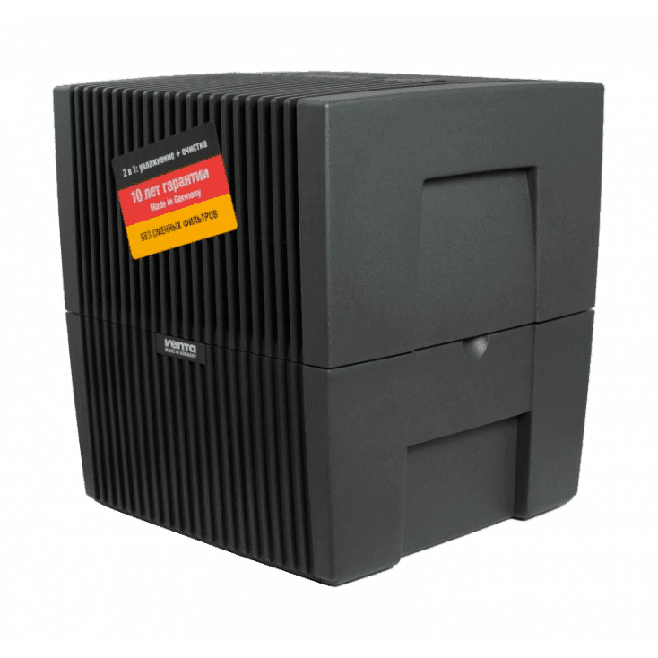 Мойка воздуха Venta LW25 (черная) + очиститель для мойки воздуха 250 мл в подарок!