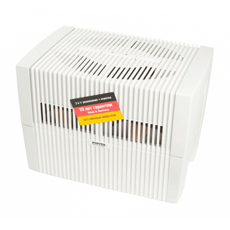 Мойка воздуха Venta LW45 (белая) + два мини-набора ароматических добавок в подарок!